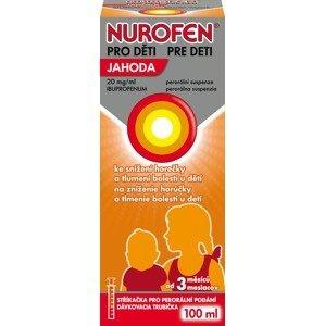 Nurofen pro děti 20mg/ml Jahoda 100ml