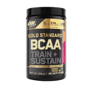 Optimum Nutrition Gold Standard BCAA Train Sustain broskev marakuja 266g