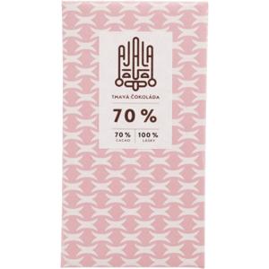 Ajala Bio čokoláda 70% tmavá výběrové boby 45g