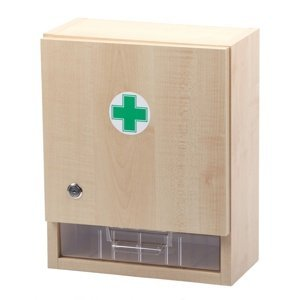 Štěpař Nástěnná lékárnička pro 20 osob – dekor dřevo