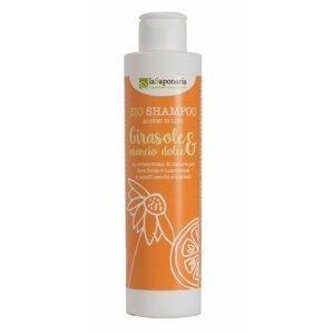 laSaponaria Šampon se slunečnicí a sladkým pomerančem 200ml
