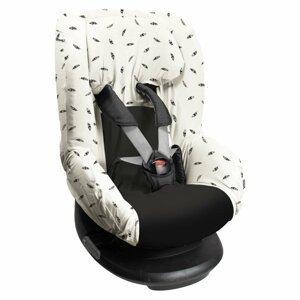 Dooky Potah na autosedačku Seat Cover Group1 Black Feathers