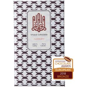 Ajala Bio čokoláda 70% rustikální výběrové boby 45g