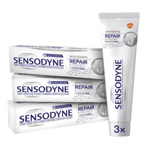 Sensodyne Zubní pasta Repair & Protect Whitening 3x75ml