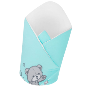 Belisima Baby  Belisima Zavinovačka Teddy Bear tyrkysová