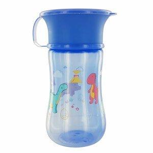 dBb Nekapací pohárek dBb Remond 360° s víčkem modrý 330ml
