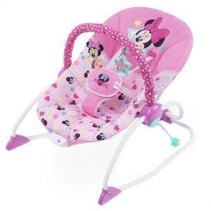 Disney Baby Houpátko vibrující Minnie Mouse Stars&Smiles Baby 0m+, do 18kg, 2019