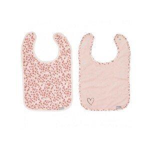 Bébé-Jou Bryndáčky Leopard Pink 2ks