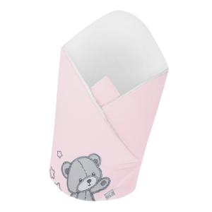 Belisima Baby  Belisima Zavinovačka Teddy Bear růžová
