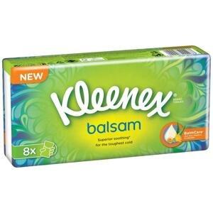 Kapesník papírový KLEENEX Balsam Hanks 8x9ks