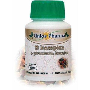 UniosPharma  Unios Pharma B komplex+pivovarské kvasnice 90 tablet