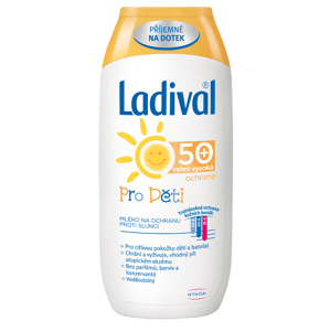 LADIVAL Mléko pro děti SPF50+ 200ml