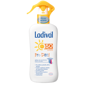 LADIVAL Sprej ochrana proti slunci děti SPF50 200ml