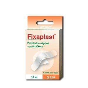 Fixaplast Náplast Clear strip 10 kusů