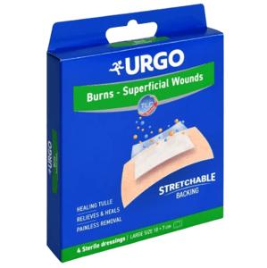 URGO Burns Na popáleniny lipidokoloid 10x7cm 4ks