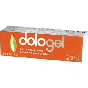 Dologel Gel na prořezávání zoubků 15ml