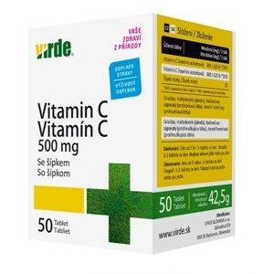 Virde Vitamin C 500 mg se šípkem 50 tablet