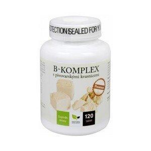 Natural Medicaments  B-komplex s pivo.kvasnicemi Premium 120 tablet