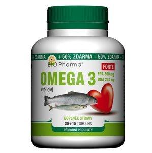 BIO Pharma  Bio-Pharma Omega 3 Forte 1200mg 30+15 tobolek