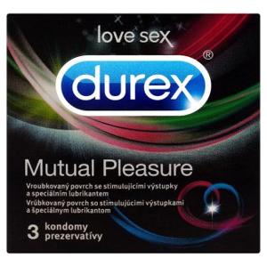 Prezervativ Durex mutual pleasure 3 ks