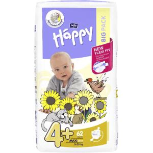 Bella Happy  Bella Baby Happy Maxi Plus Big Pack 9-20kg 62 ks