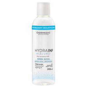 Dermedic Hydrain3 Hialuro Micelární voda 200ml