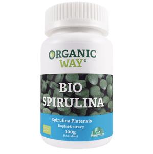 Organic WAY Spirulina Bio 100g tbl.400