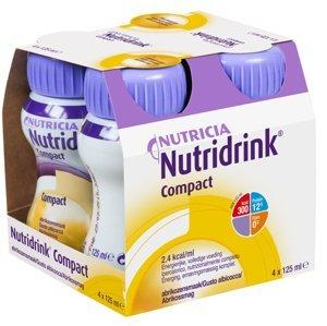 Nutridrink Compact Meruňkový roztok k vnitřnímu užití 4x125ml