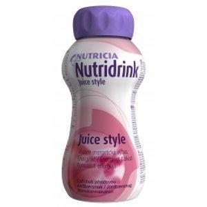 Nutridrink s příchutí jahodovou 200ml