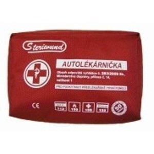 Steriwund  Autolékárnička vyhl.č.341/2014 provedení textil