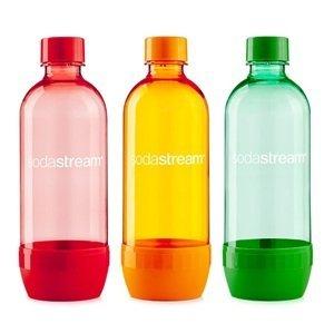 Lahev TriPack 1l ORANGE/RED/BLUE/GREEN SODASTREAM
