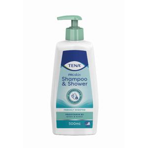 TENA Sprchový gel a šampon 500ml