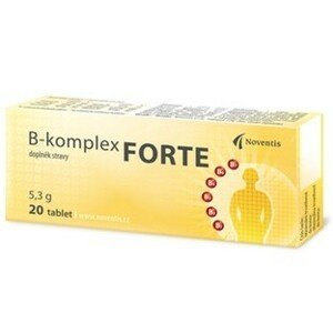 Noventis  B-komplex Forte 20 tablet