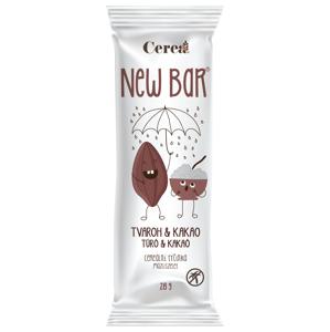 New Bar Cereální tyčinka tvaroh a kakao 28g