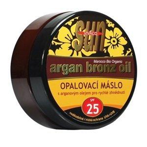 Sun Vital  Vivaco Arganové opalovací máslo OF25 200ml