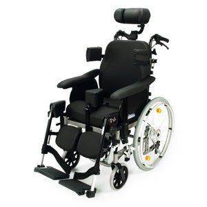 DMA Relax Comfort polohovací invalidní vozík šířka sedu 39 cm