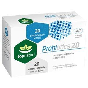 Topnatur Probiotics 20, 30 kapslí
