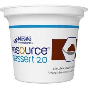 Resource Dessert 2.0 Čokoládový 4x125g