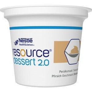 Resource Dessert 2.0 Broskvový 4x125g