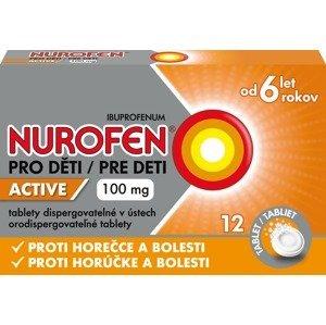Nurofen pro děti Active 100mg 12 tablet