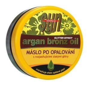 Vivaco Arganové máslo po opalování s glitry 200ml