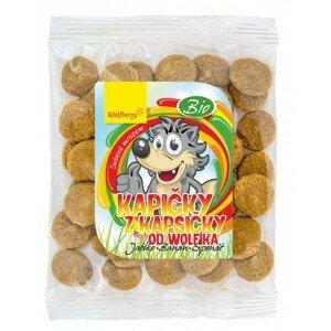 Wolfberry Kapičky z kapsičky BIO od Wolfíka - jablko, banán, špenát 18g