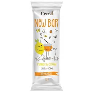 New Bar Cereální tyčinka tvaroh a citron 28g