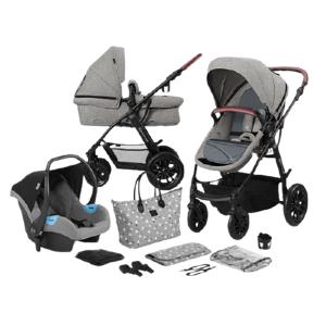 Kinderkraft Xmoov Kombinovaný kočárek 3v1 Grey