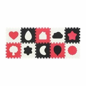 BabyOno Puzzle pěnové Shapes 10ks