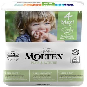 Moltex Dětské plenky Pure & Nature Maxi 7-18 kg, 29ks