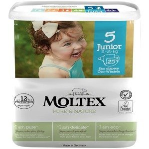 Moltex Dětské plenky Pure & Nature Junior 11-25 kg, 25ks