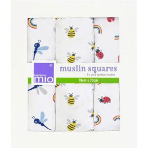 Bambino Mio Mušelínové plenky bamboo Bug's Life 3ks