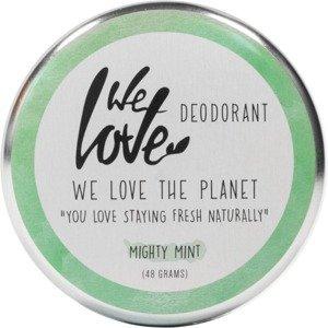 """We love the Planet Krémový deodorant """"Mighty Mint"""" přírodní 48g"""