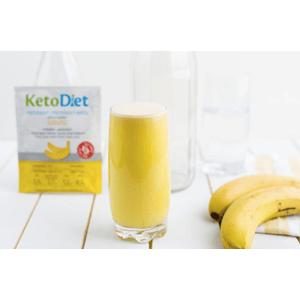 KetoDiet Proteinový nápoj banán 7porcí